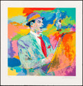 """Movie Posters:Musical, Frank Sinatra by LeRoy Neiman (1994). Signed and Numbered Limited Edition Serigraph (35"""" X 36"""") with COA. Musical.. ..."""