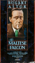 """Movie Posters:Film Noir, The Maltese Falcon & Other Lot (United Artists, R-1981). Video Posters (2) (20"""" X 36"""" & 21.5"""" X 36""""). Film Noir.. ... (Total: 2 Items)"""