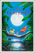 """Movie Posters:Animation, The Lion King (The Disney Channel, 1990s). Television Poster (27"""" X 41""""). Animation.. ..."""
