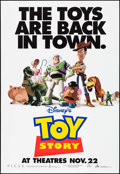 "Movie Posters:Animation, Toy Story (Buena Vista, 1995). Bus Shelter (46.5"" X 68"") Advance. Animation.. ..."