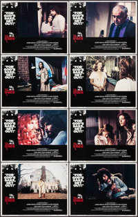 """The Amityville Horror & Other Lot (American International, 1979). Lobby Card Sets of 8 (2 Sets) (11"""" X 14""""..."""