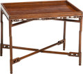 Asian:Japanese, An Chinese Hongmu Convertible Folding Table, Qing Dynasty, 19thcentury . 23 h x 29 w x 20-1/4 d inches (58.4 x 73.7 x 51.4 ...(Total: 2 Items)
