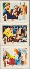 "Movie Posters:Bad Girl, A Woman Like Satan (Lopert, 1959). Lobby Cards (3) (Approx. 11"" X14""). Bad Girl.. ... (Total: 3 Items)"
