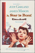 """Movie Posters:Musical, A Star is Born (Warner Brothers, 1954). One Sheet (27"""" X 41""""). Musical.. ..."""