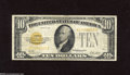 Small Size:Gold Certificates, Fr. 2400 $10 1928 Gold Certificate. Fine-Very Fine. This mid-grade note offers up nice color and is defect free....