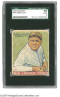 Baseball Cards:Singles (1930-1939), 1933 Goudey Babe Ruth #181 SGC Poor 10. Respectable example of thisimportant card....