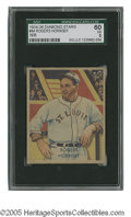 Baseball Cards:Singles (1930-1939), 1934-36 Diamond Stars Rogers Hornsby #44 SGC EX 60. Strong exampleof this important card....