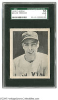 Baseball Cards:Singles (1930-1939), 1939 Play Ball Joe DiMaggio #26 SGC Poor 10. Respectable example of this important card....