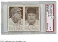 Baseball Cards:Singles (1940-1949), 1941 Joe Cronin 59 - Jimmie Foxx 60 PSA EX 5. Fine Hall of Famecard from this tough set....