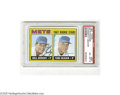 Baseball Cards:Singles (1960-1969), 1967 Topps Mets Rookies #581 PSA EX-MT 6 Strong example of thisimportant card....