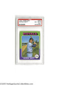 Baseball Cards:Singles (1970-Now), 1975 Topps Mini George Brett #228 PSA NM-MT 8 (OC). Strong exampleof this important card....