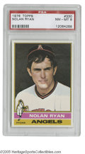 Baseball Cards:Singles (1970-Now), 1976 Topps Nolan Ryan #330 PSA NM-MT 8. Strong specimen of thisimportant card....