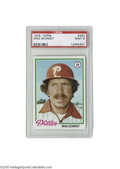 Baseball Cards:Singles (1970-Now), 1978 Topps Mike Schmidt #360 PSA Mint 9. Strong specimen of thisimportant card....