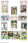 Baseball Cards:Sets, 1973 Topps Baseball Complete Set (660ct.). The 1973 Topps baseball series consists of 660 cards and marks the last time card...