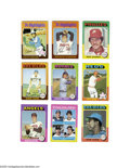 Baseball Cards:Sets, 1975 Topps Baseball Complete Set (660ct.). The 1975 Topps baseball series consists of 660 cards and was a collector favorite...