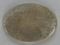 Asian:Other, A Finely Carved Agate Amulet with Koranic Verse. 1-1/2 inches high x 1-7/8 inches wide (3.8 x 4.8 cm). ...