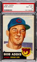 Baseball Cards:Singles (1950-1959), 1953 Topps Bob Addis #157 PSA NM-MT 8 - Only Three Higher....