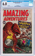 Silver Age (1956-1969):Horror, Amazing Adventures #3 (Marvel, 1961) CGC FN 6.0 Off-white to whitepages....