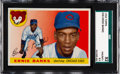 Baseball Cards:Singles (1950-1959), 1955 Topps Ernie Banks #28 SGC 92 NM/MT+ 8.5....