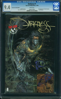 Darkness 1 Top Cow Fan Club Edition - Top Cow Fan Club Edition (Top Cow Publications, 1996) CGC NM 9.4 White pages