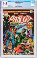 Bronze Age (1970-1979):Horror, Tomb of Dracula #29 Western Penn Pedigree (Marvel, 1975) CGC NM/MT9.8 White pages....