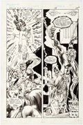 Original Comic Art:Panel Pages, Mike Grell Warlord #14 Story Page 14 Original Art (DC,1978)....