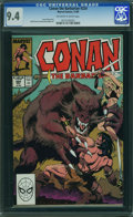Modern Age (1980-Present):Superhero, Conan the Barbarian #224 (Marvel, 1989) CGC NM 9.4 OFF-WHITE TO WHITE pages.