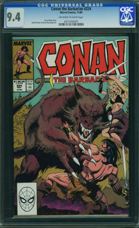 Conan the Barbarian #224 (Marvel, 1989) CGC NM 9.4 OFF-WHITE TO WHITE pages