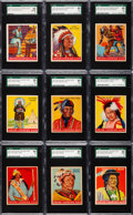 "Non-Sport Cards:Lots, 1947 Goudey ""Indian Gum"" Collection (39). ..."