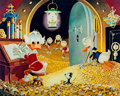 Memorabilia:Disney, Carl Barks Visitor From Underground Signed Limited EditionMiniature Lithograph Print #445/595 (Another Rainbow, 1...