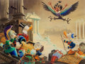 Memorabilia:Disney, Carl Barks Menace out of the Myths Signed Limited Edition Miniature Lithograph Print #317/595 (Another Rainbow, 19...
