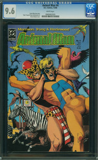 Animal Man #4 (DC, 1988) CGC NM+ 9.6 White pages