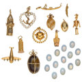 Estate Jewelry:Lots, Multi-Stone, Cultured Pearl, Gold Jewelry Lot. ... (Total: 25Items)