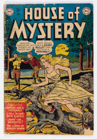 House of Mystery #1 (DC, 1952) Condition: GD/VG