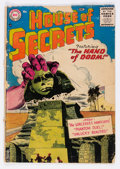 Silver Age (1956-1969):Horror, House of Secrets #1 (DC, 1956) Condition: GD-....
