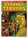 Golden Age (1938-1955):Horror, Strange Terrors #1 (St. John, 1952) Condition: GD/VG....
