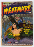 Golden Age (1938-1955):Horror, Nightmare #1 (Ziff-Davis, 1952) Condition: FR....