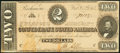 Confederate Notes, Orange Ink Smearing T70 $2 1864 PF-5 Cr. 567.. ...