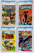 Modern Age (1980-Present):Miscellaneous, Marvel Modern Age CGC-Graded Group of 4 (Marvel, 1980-82).... (Total: 4 Comic Books)
