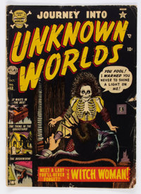 Journey Into Unknown Worlds #13 (Atlas, 1952) Condition: VG-