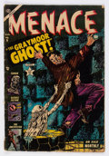Golden Age (1938-1955):Horror, Menace #6 (Atlas, 1953) Condition: VG....