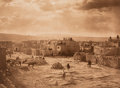Photographs, Edward Sheriff Curtis (American, 1868-1952). A Feast Day at Acoma, Plate 565, 1904. Photogravure. 11-3/8 x 15-3/8 inches...