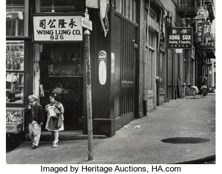 Phil Palmer (American, 1911-1992)A Group of Four Photographs of San Francisco, circa 1950sGelatin silver9-1/2 x 7-... (Total: 4 Items)