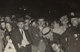 Attributed to Weegee (American, 1899-1968) Crowd with Policeman Gelatin silver 2-3/8 x 3-1/4 inches (6.0 x 8.3 cm)