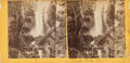 Photographs:Albumen, Attributed to Carleton E. Watkins (American, 1829-1916). A Group of Three Stereo Cards Featuring Outdoor Scenes, circa 1... (Total: 3 Items)