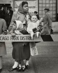 Photographs:Gelatin Silver, Marvin Newman (American, b. 1927). Parade, Chicago, 1951.Gelatin silver. 9-1/2 x 7-1/2 inches (24.1 x 19.1 cm). Signed ...