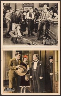"The Fighting Buckaroo & Other Lot (Fox, 1926). Very Fine-. Lobby Cards (2) (11"" X 14""). Western. ... (Tota..."