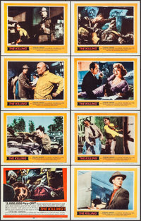 "The Killing (United Artists, 1956). Lobby Card Set of 8 (11"" X 14""). Film Noir. ... (Total: 8 Items)"