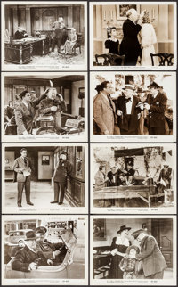 "The Bank Dick (Realart, R-1949). Photos (8) (8"" X 10""). Comedy. ... (Total: 8 Items)"