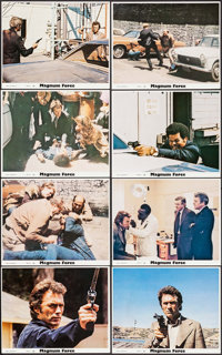 "Magnum Force (Warner Brothers, 1973). Mini Lobby Card Set of 22 (8"" X 10""). Action. ... (Total: 22 Items)"